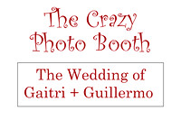Gaitri + Guillermo PhotoBooth